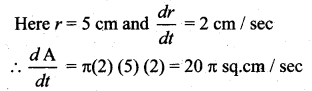 Samacheer Kalvi 12th Maths Solutions Chapter 7 Applications of Differential Calculus Ex 7.1 9