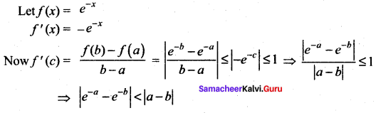 Samacheer Kalvi 12th Maths Solutions Chapter 7 Applications of Differential Calculus Ex 7.3 18