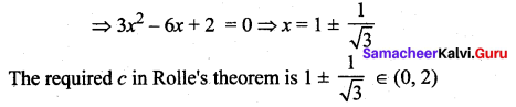Samacheer Kalvi 12th Maths Solutions Chapter 7 Applications of Differential Calculus Ex 7.3 21