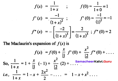 Samacheer Kalvi 12th Maths Solutions Chapter 7 Applications of Differential Calculus Ex 7.4 14