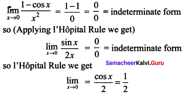 Samacheer Kalvi 12th Maths Solutions Chapter 7 Applications of Differential Calculus Ex 7.5 2
