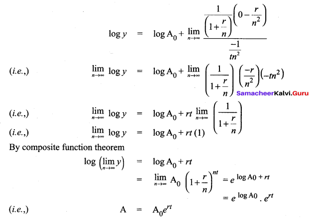 Samacheer Kalvi 12th Maths Solutions Chapter 7 Applications of Differential Calculus Ex 7.5 24