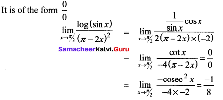 Samacheer Kalvi 12th Maths Solutions Chapter 7 Applications of Differential Calculus Ex 7.5 26