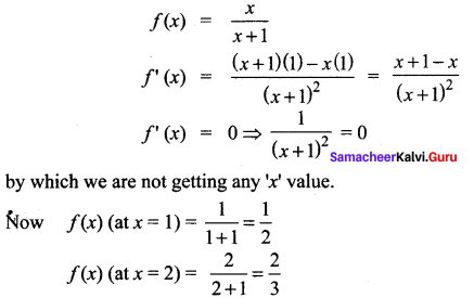 Samacheer Kalvi 12th Maths Solutions Chapter 7 Applications of Differential Calculus Ex 7.6 15