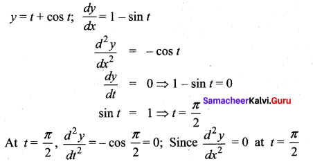 Samacheer Kalvi 12th Maths Solutions Chapter 7 Applications of Differential Calculus Ex 7.6 20