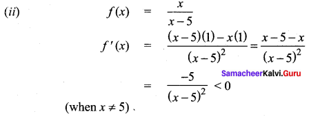 Samacheer Kalvi 12th Maths Solutions Chapter 7 Applications of Differential Calculus Ex 7.6 7