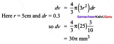 Samacheer Kalvi 12th Maths Solutions Chapter 8 Differentials and Partial Derivatives Ex 8.2 24