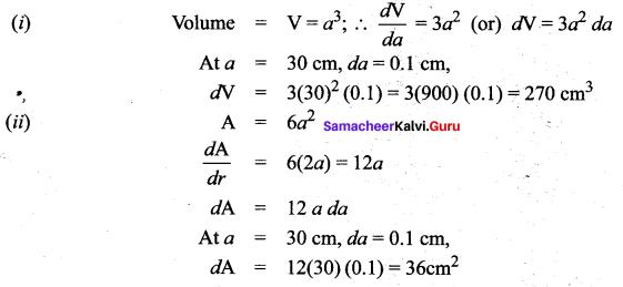 Samacheer Kalvi 12th Maths Solutions Chapter 8 Differentials and Partial Derivatives Ex 8.2 31