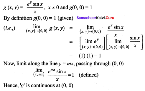 Samacheer Kalvi 12th Maths Solutions Chapter 8 Differentials and Partial Derivatives Ex 8.3 152