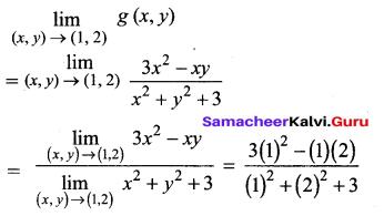 Samacheer Kalvi 12th Maths Solutions Chapter 8 Differentials and Partial Derivatives Ex 8.3 2