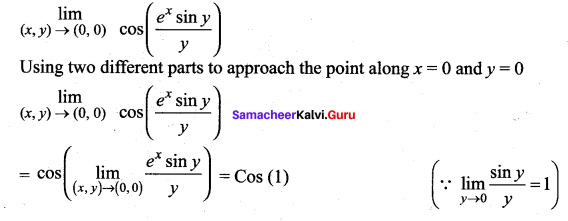 Samacheer Kalvi 12th Maths Solutions Chapter 8 Differentials and Partial Derivatives Ex 8.3 9