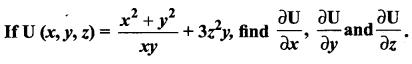 Samacheer Kalvi 12th Maths Solutions Chapter 8 Differentials and Partial Derivatives Ex 8.4 11