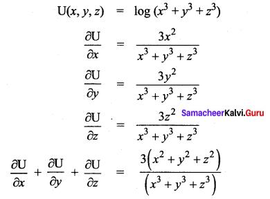 Samacheer Kalvi 12th Maths Solutions Chapter 8 Differentials and Partial Derivatives Ex 8.4 14