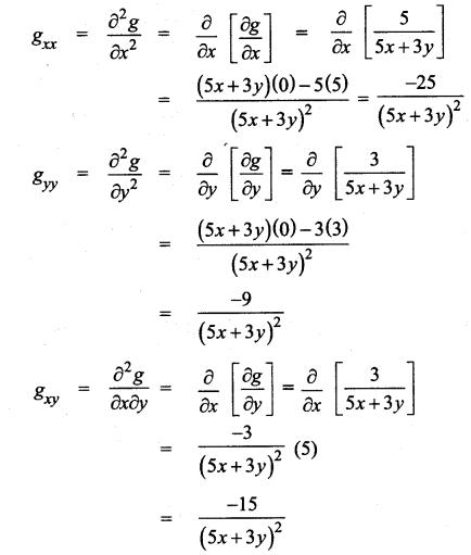Samacheer Kalvi 12th Maths Solutions Chapter 8 Differentials and Partial Derivatives Ex 8.4 16
