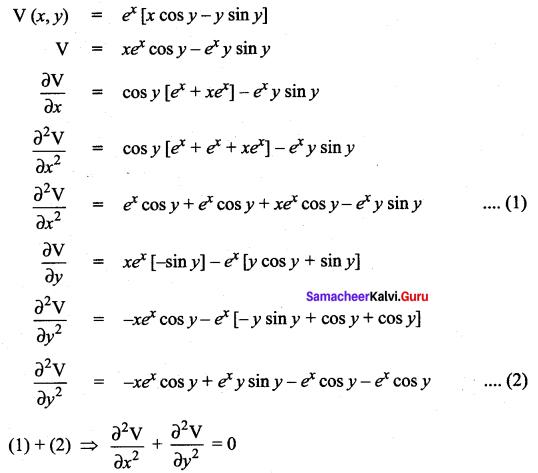 Samacheer Kalvi 12th Maths Solutions Chapter 8 Differentials and Partial Derivatives Ex 8.4 24