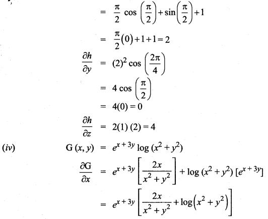 Samacheer Kalvi 12th Maths Solutions Chapter 8 Differentials and Partial Derivatives Ex 8.4 4