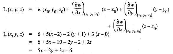 Samacheer Kalvi 12th Maths Solutions Chapter 8 Differentials and Partial Derivatives Ex 8.5 6