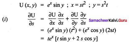 Samacheer Kalvi 12th Maths Solutions Chapter 8 Differentials and Partial Derivatives Ex 8.6 13