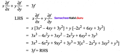 Samacheer Kalvi 12th Maths Solutions Chapter 8 Differentials and Partial Derivatives Ex 8.7 16