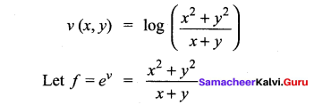 Samacheer Kalvi 12th Maths Solutions Chapter 8 Differentials and Partial Derivatives Ex 8.7 22