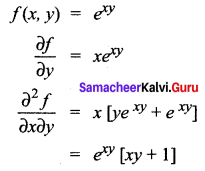 Samacheer Kalvi 12th Maths Solutions Chapter 8 Differentials and Partial Derivatives Ex 8.8 12