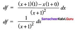 Samacheer Kalvi 12th Maths Solutions Chapter 8 Differentials and Partial Derivatives Ex 8.8 15