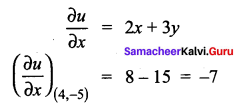 Samacheer Kalvi 12th Maths Solutions Chapter 8 Differentials and Partial Derivatives Ex 8.8 166