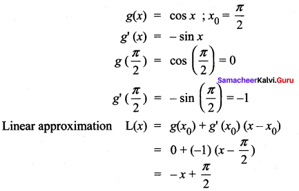 Samacheer Kalvi 12th Maths Solutions Chapter 8 Differentials and Partial Derivatives Ex 8.8 19