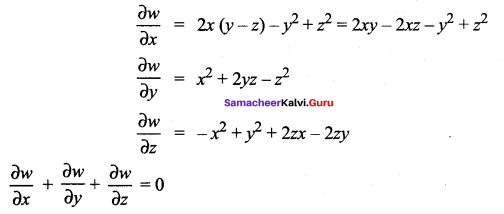 Samacheer Kalvi 12th Maths Solutions Chapter 8 Differentials and Partial Derivatives Ex 8.8 21