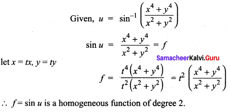 Samacheer Kalvi 12th Maths Solutions Chapter 8 Differentials and Partial Derivatives Ex 8.8 24