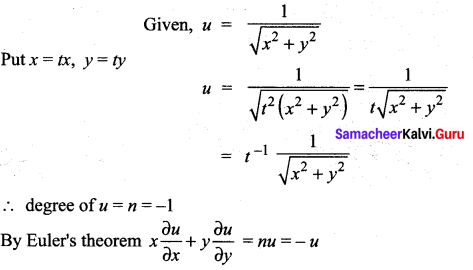 Samacheer Kalvi 12th Maths Solutions Chapter 8 Differentials and Partial Derivatives Ex 8.8 27