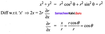 Samacheer Kalvi 12th Maths Solutions Chapter 8 Differentials and Partial Derivatives Ex 8.8 29