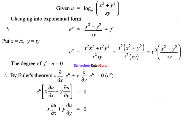 Samacheer Kalvi 12th Maths Solutions Chapter 8 Differentials and Partial Derivatives Ex 8.8 31