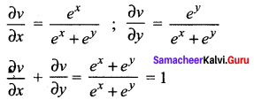 Samacheer Kalvi 12th Maths Solutions Chapter 8 Differentials and Partial Derivatives Ex 8.8 8