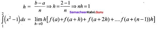 Samacheer Kalvi 12th Maths Solutions Chapter 9 Applications of Integration Ex 9.2 9