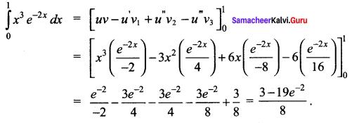 Samacheer Kalvi 12th Maths Solutions Chapter 9 Applications of Integration Ex 9.4 2
