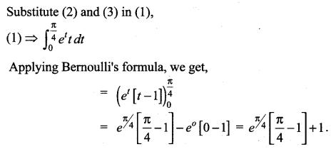 Samacheer Kalvi 12th Maths Solutions Chapter 9 Applications of Integration Ex 9.4 6