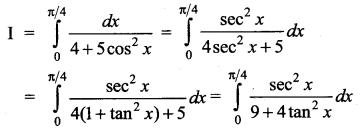Samacheer Kalvi 12th Maths Solutions Chapter 9 Applications of Integration Ex 9.5 9