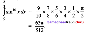 Samacheer Kalvi 12th Maths Solutions Chapter 9 Applications of Integration Ex 9.6 2