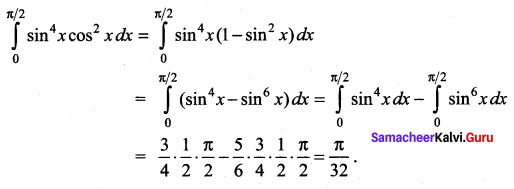 Samacheer Kalvi 12th Maths Solutions Chapter 9 Applications of Integration Ex 9.6 27