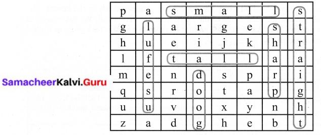 6th Standard English Poem Trees Question Answer Samacheer Kalvi English