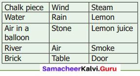 Samacheer Kalvi 6th Science Solutions Term 1 Chapter 3 Matter Around Us 14