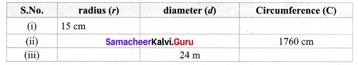 Samacheer Kalvi 7th Maths Term 2 Measurements