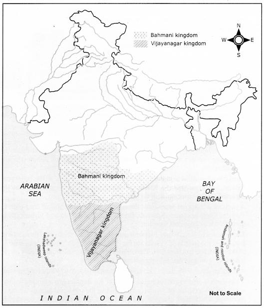 Vijayanagar And Bahmani Kingdoms Samacheer Kalvi 7th Social Science History Solutions