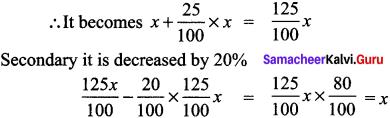 Samacheer Kalvi 8th Maths Solutions Term 2 Chapter 1 Life Mathematics Ex 1.1 12