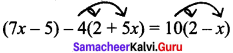 Samacheer Kalvi 8th Maths Solutions Term 2 Chapter 2 Algebra Ex 2.1 10