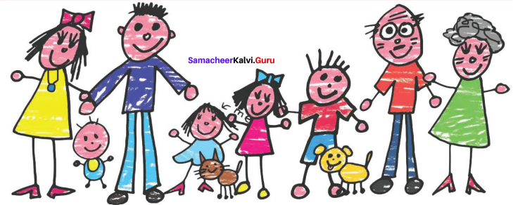 Samacheer Kalvi 9th English Solutions Poem Chapter 7 The Stick-together families 1