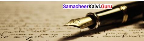 Samacheer Kalvi 9th English Solutions Prose Chapter 7 A Birthday Letter 6