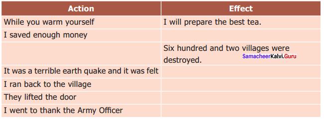 Earthquake 9th Supplementary Lesson Plan Samacheer Kalvi