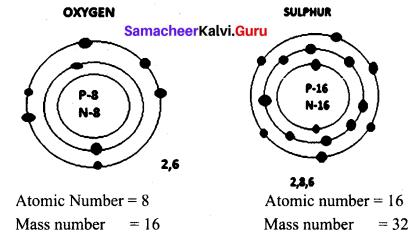 Atomic Structure Class 9 Pdf Samacheer Kalvi Science Solutions Chapter 11